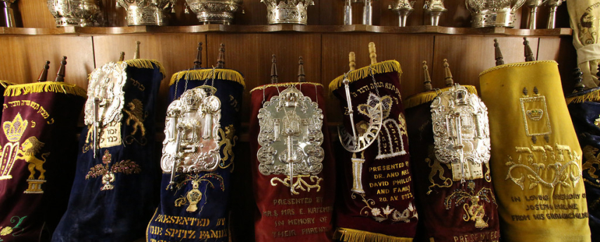 Sifrei Torah in the Main Sanctuary